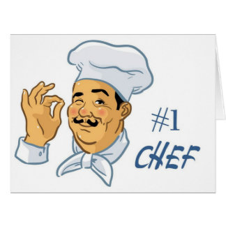 #1 Chef Card