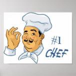 #1 Chef Print