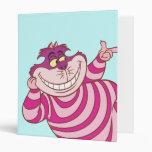 """1""""  Cheshire Cat Vinyl Binder"""