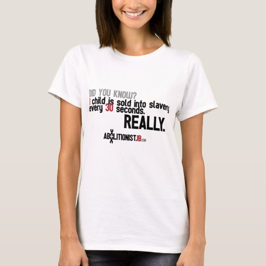 1 Child Sold Every 30 Seconds T-Shirt