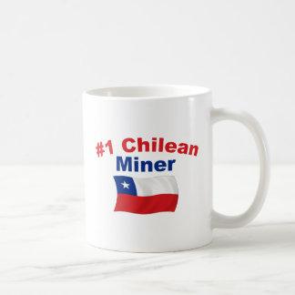 #1 Chilean Miner Classic White Coffee Mug