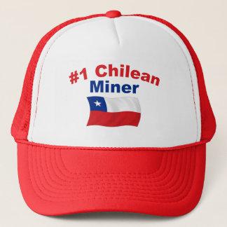 #1 Chilean Miner Trucker Hat
