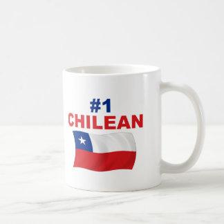 #1 Chilean Classic White Coffee Mug