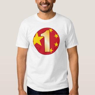1 CHINA Gold T-Shirt