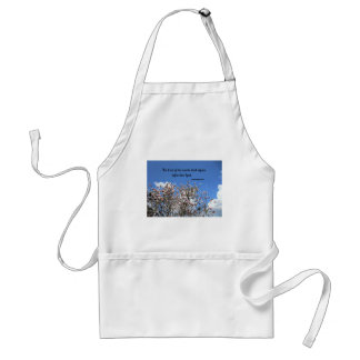 1 Chronicles 16:33 The trees of the woods... Adult Apron