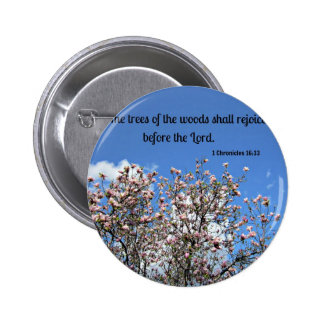 1 Chronicles 16 33 The trees of the woods Pin