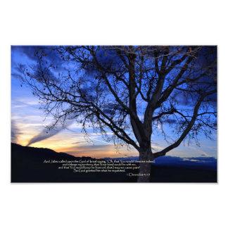 1 Chronicles 4:10 Prayer of Jabez Photo Print