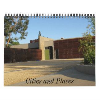 1, Cities and Places Calendar