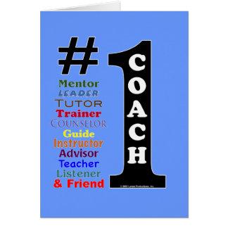 1 Coach Card