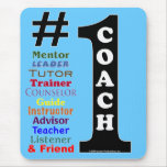 #1 Coach Mousepad