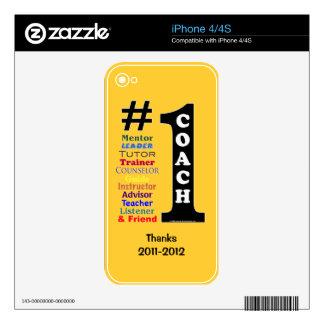#1 Coach Phone Skin