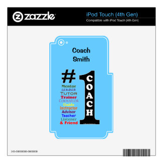#1 Coach - Skin for iPod Touch or MP3 Player