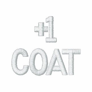 +1 Coat Embroidered Hoodie