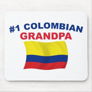 #1 Colombian Grandpa Mouse Pad
