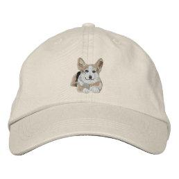 1 cool Corgi Embroidered Baseball Cap