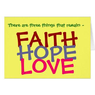 1 Cor 13:13 Card