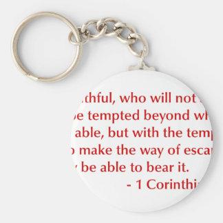 1-Corinthians-10-13-opt-burg.png Key Chains