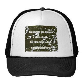 1 Corinthians 13:12 Trucker Hat