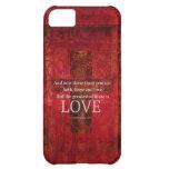 1 Corinthians 13:13 BIBLE VERSE ABOUT LOVE iPhone 5C Cases