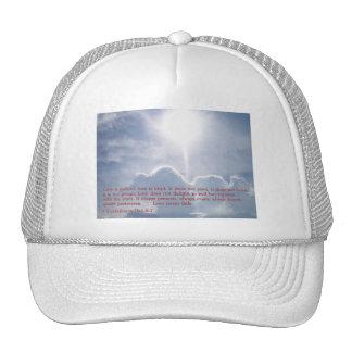 1 Corinthians 13:4 6-7  Clouds Trucker Hat