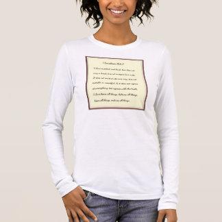 1 Corinthians 13:4-7 Long Sleeve T-Shirt