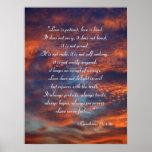1 Corinthians 13; 4-8a - Inspirational Poster