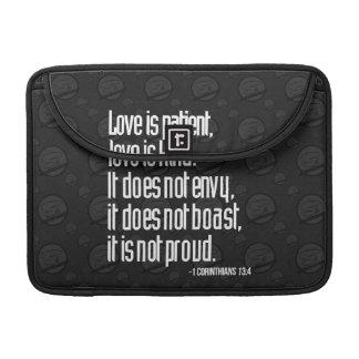 "1 Corinthians 13:4 MacBook Pro 13"" Sleeve"