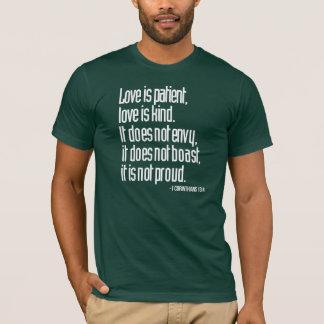 1 Corinthians 13:4 Men's Basic Crew Neck T-Shirt