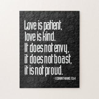1 Corinthians 13:4 Puzzle
