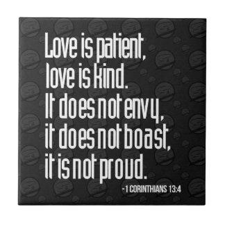 1 Corinthians 13:4 Tiles