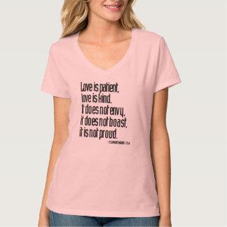 1 Corinthians 13:4 Women's Nano V-Neck T-Shirt