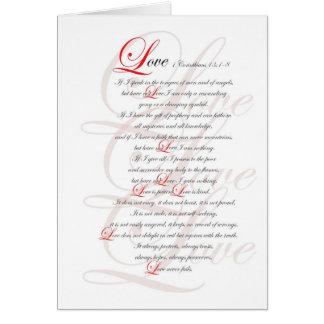 1 Corinthians 13 Card