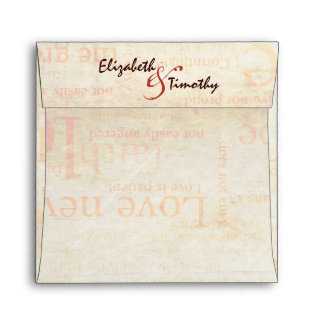 1 Corinthians 13 Envelope