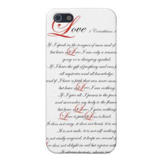 1 Corinthians 13 iPhone 5 Carcasa