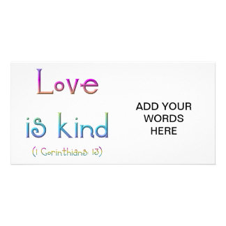 1 Corinthians 13 - Love Is Kind Card