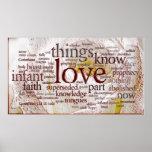 1 Corinthians 13 Rose (v1) Poster