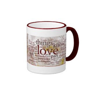 1 Corinthians 13 Rose (v1) Ringer Mug