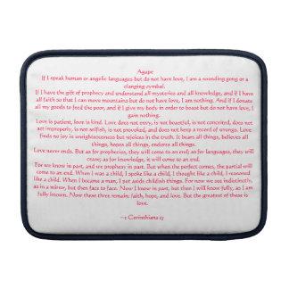 1 Corinthians 13 Sleeve For MacBook Air