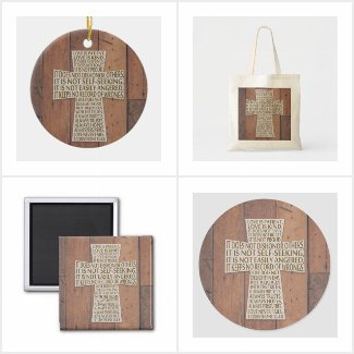 1 Corinthians 13-The Love Chapter Cross Gifts