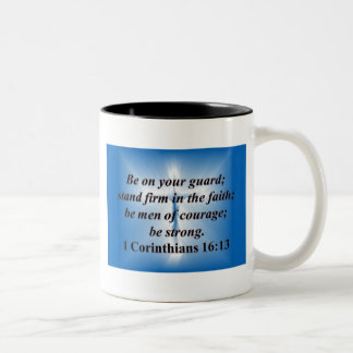 1 Corinthians 16:13 Coffee Mugs