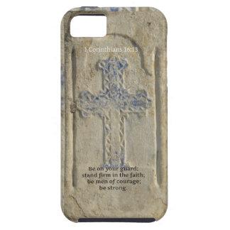 1 Corinthians 16:13  Faith Bible Verse iPhone SE/5/5s Case