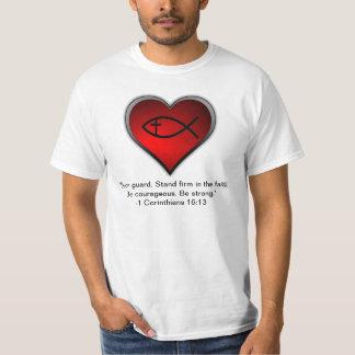 1 Corinthians 16:13 T-Shirt