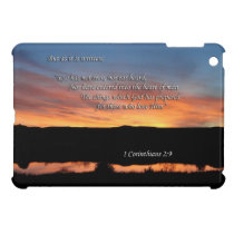 1 Corinthians 2:9 Lake Scott Sunset Case For The iPad Mini