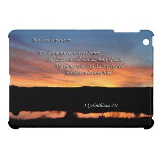 1 Corinthians 2:9 Lake Scott Sunset Case For The iPad Mini