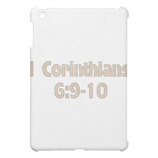 1 Corinthians 6:9-10 iPad Mini Cover