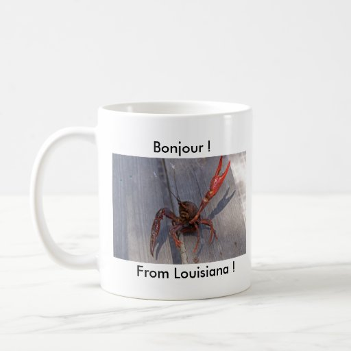 1 crawfish coffee mug