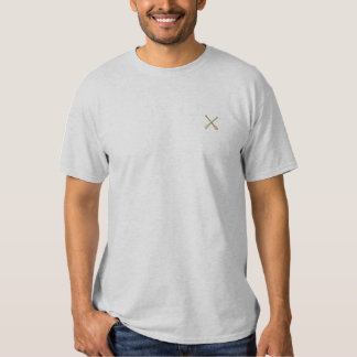 """1"""" Crossed Oars Embroidered T-Shirt"""