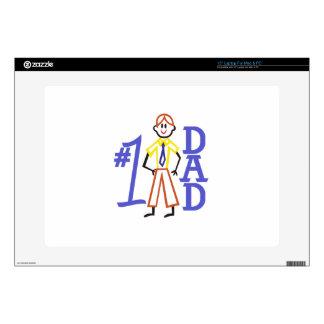"""#1 Dad 15"""" Laptop Skin"""