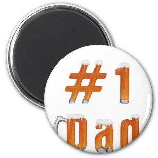 #1 Dad 1 Magnet