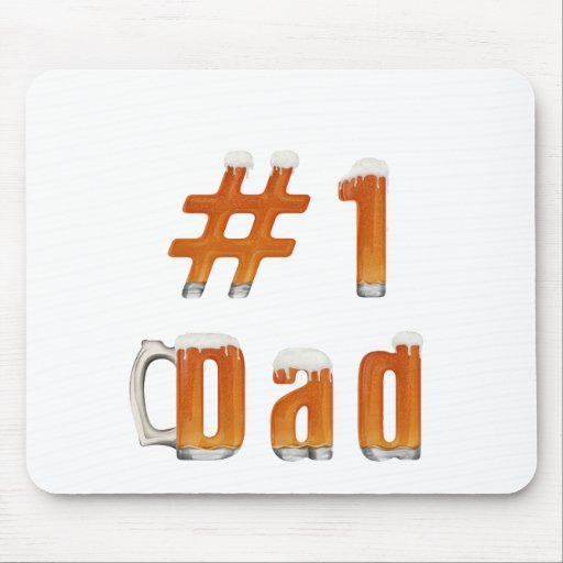 #1 Dad 1 Mouse Pad